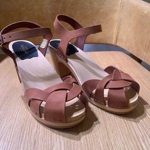 Swedish Hasbeens sandal, never worn